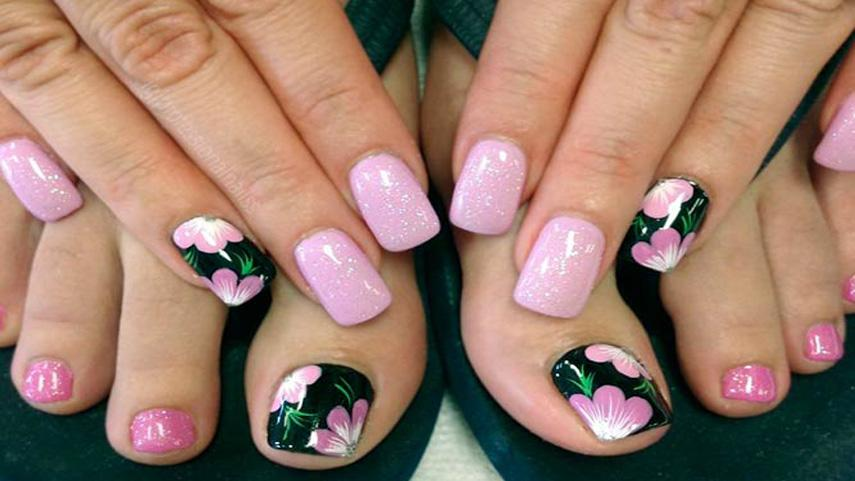 Euro Nails & Spa | Should you use an acrylic or gel pedicure to ...