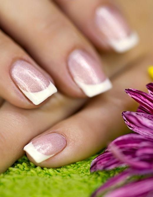 Euro Nails & Spa | Gel Pink & White Fill in