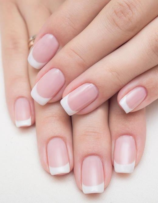 Euro Nails & Spa | Pink & White Fill in